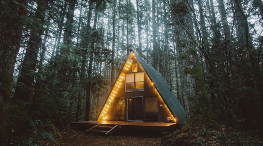 Cozy up in a Cabin in Washington