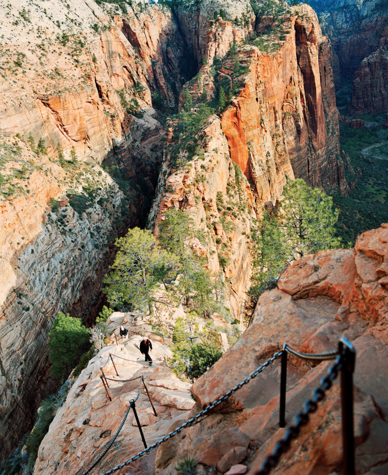 End of the Angels Landing Trail