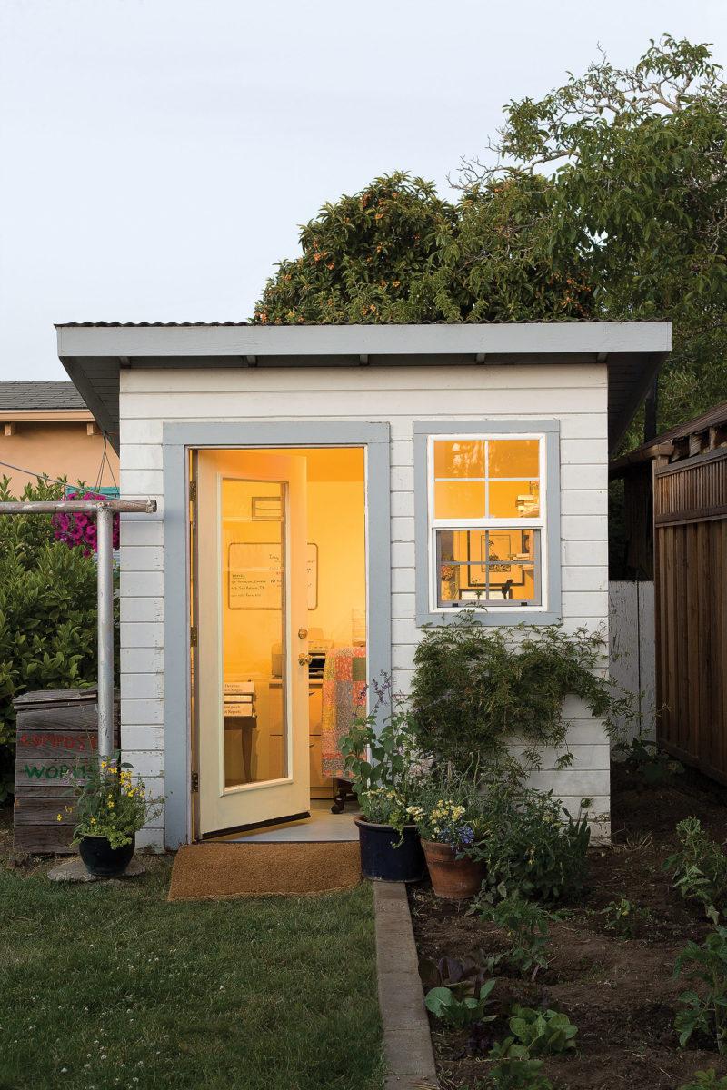 Backyard home office
