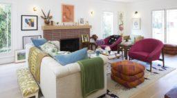 Gibbin Home Tour Bronstein Living Room Detail