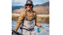 Eduardo Garcia Fly Fishing in Montana