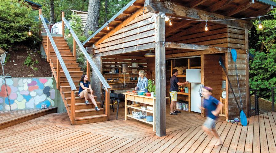 Design a Camp-Worthy Kitchen