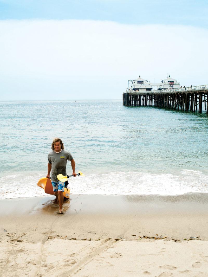 Malibu, CA surfer
