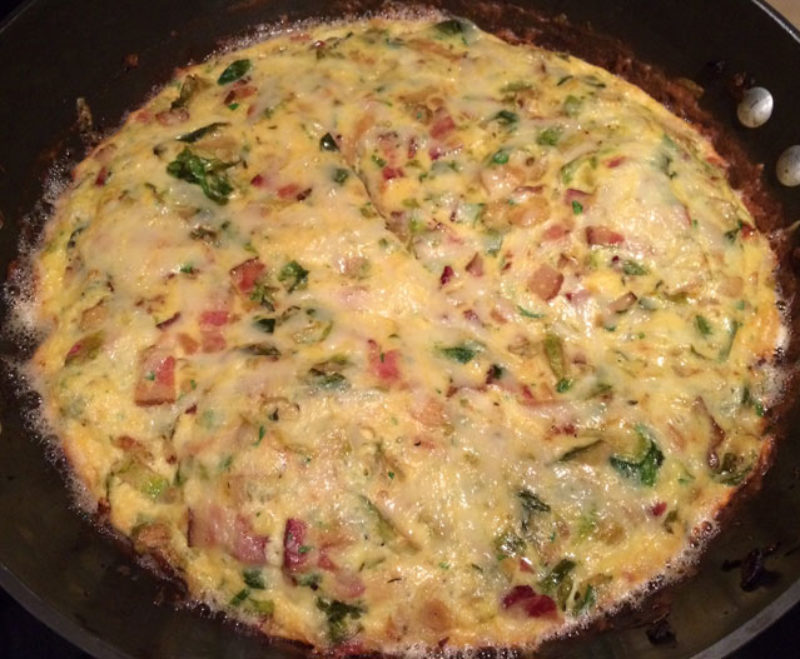 I'm still drooling over this frittata