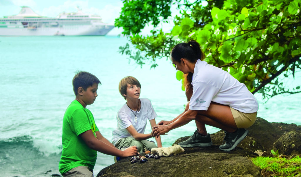 The Wildlife Conservation Society Children's Program on Paul Gauguin Cruises