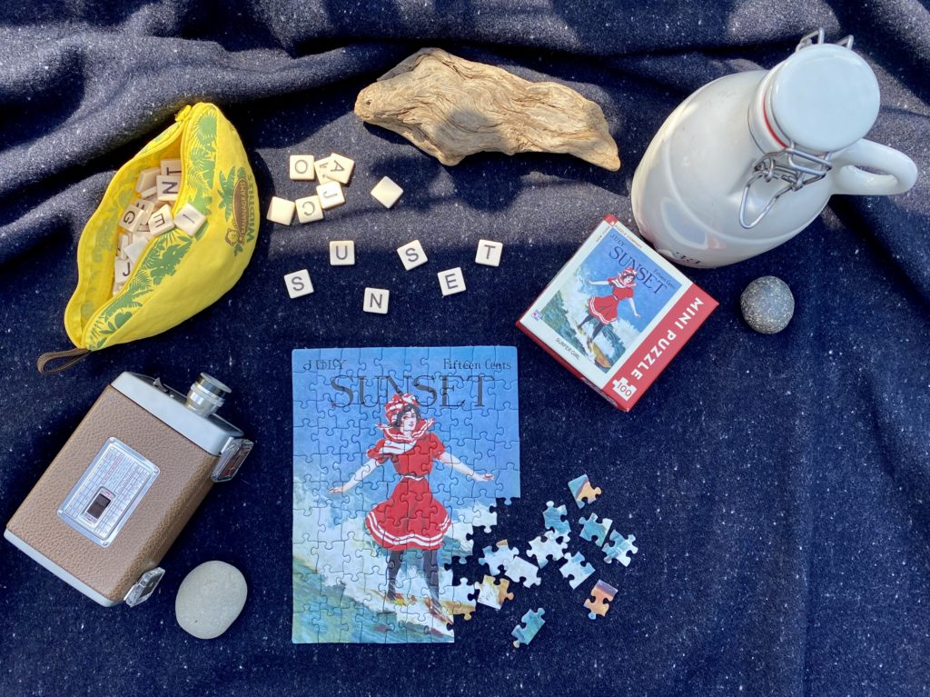 Announcing: Sunset Puzzles, a Collection of Vintage Covers for You to Enjoy - Sunset Magazine