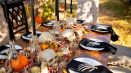 adult themed halloween dinner party