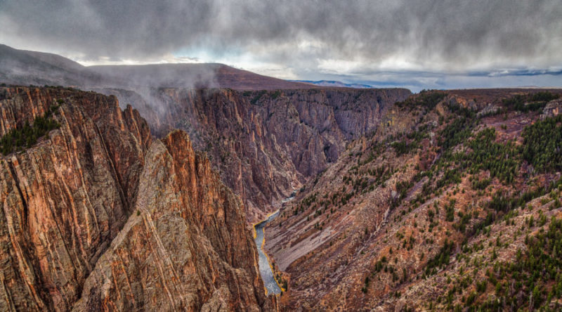 Black Canyon of the Gunnison N.P., CO