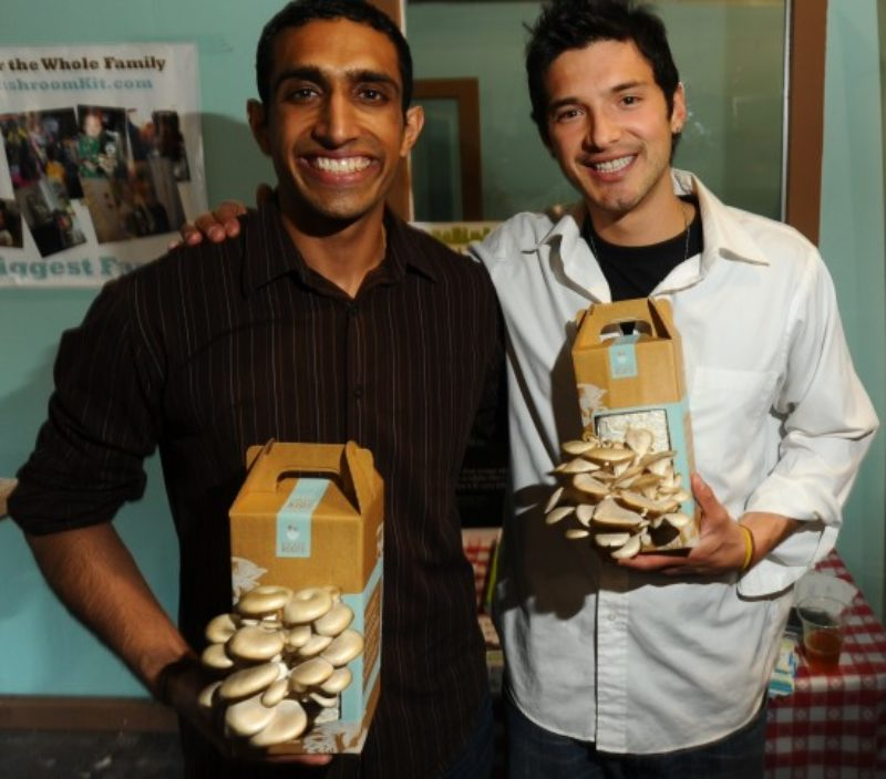 Alejandro and Nikhil of Back to the Roots
