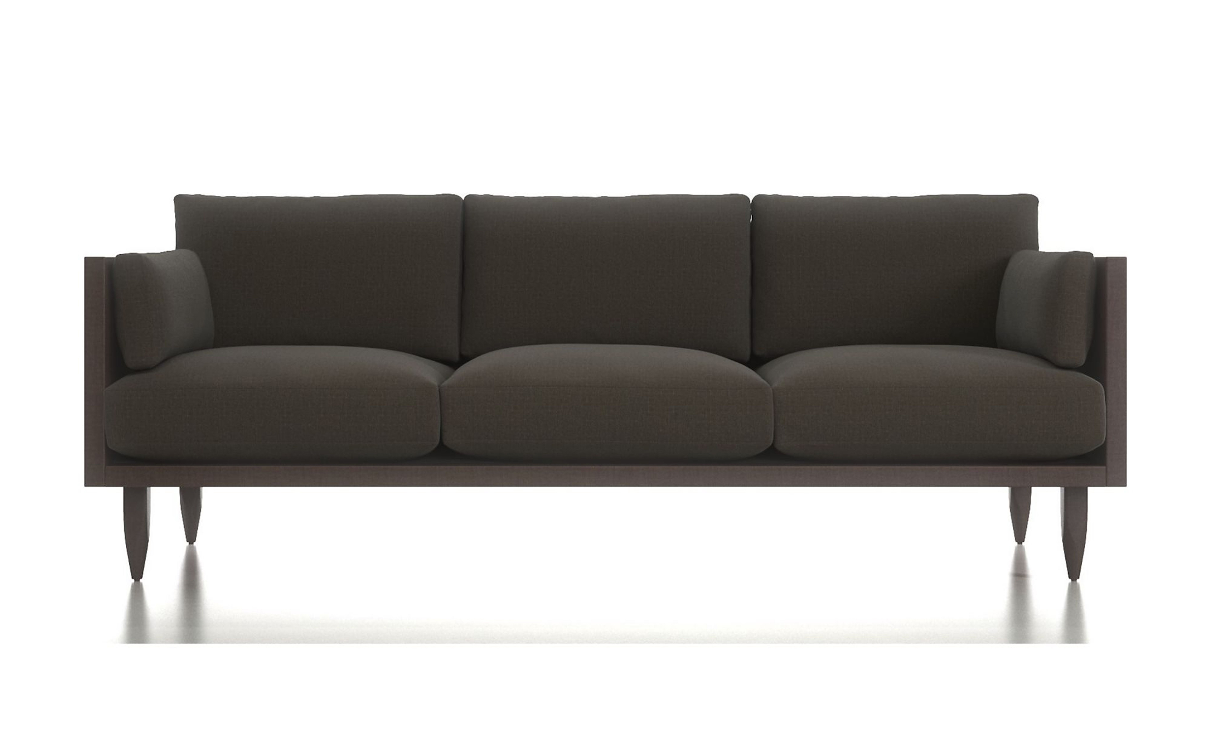 These Exposed Wood Frame Sofas Are A