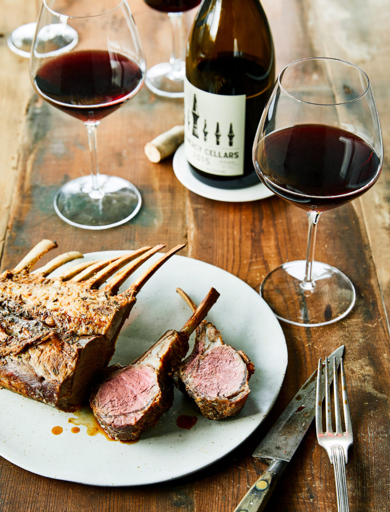 Lamb and Mourvedre