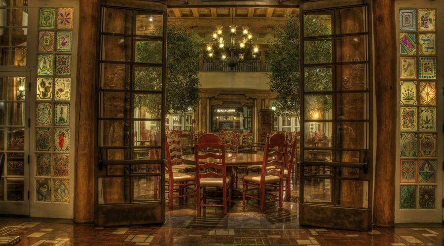 Inside La Posada de Santa Fe Resort & Spa, site of many ghost stories