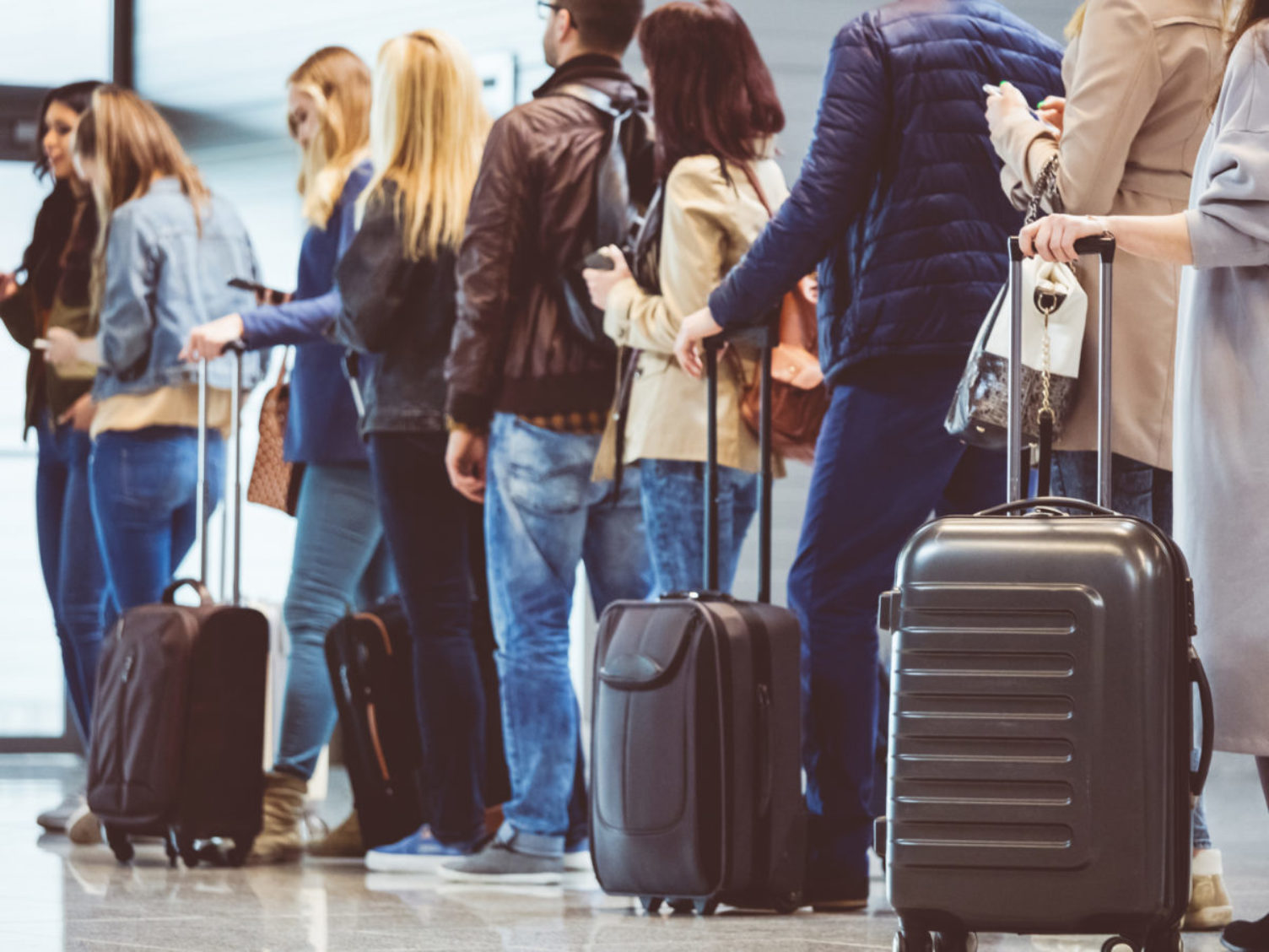 Holiday airport travel