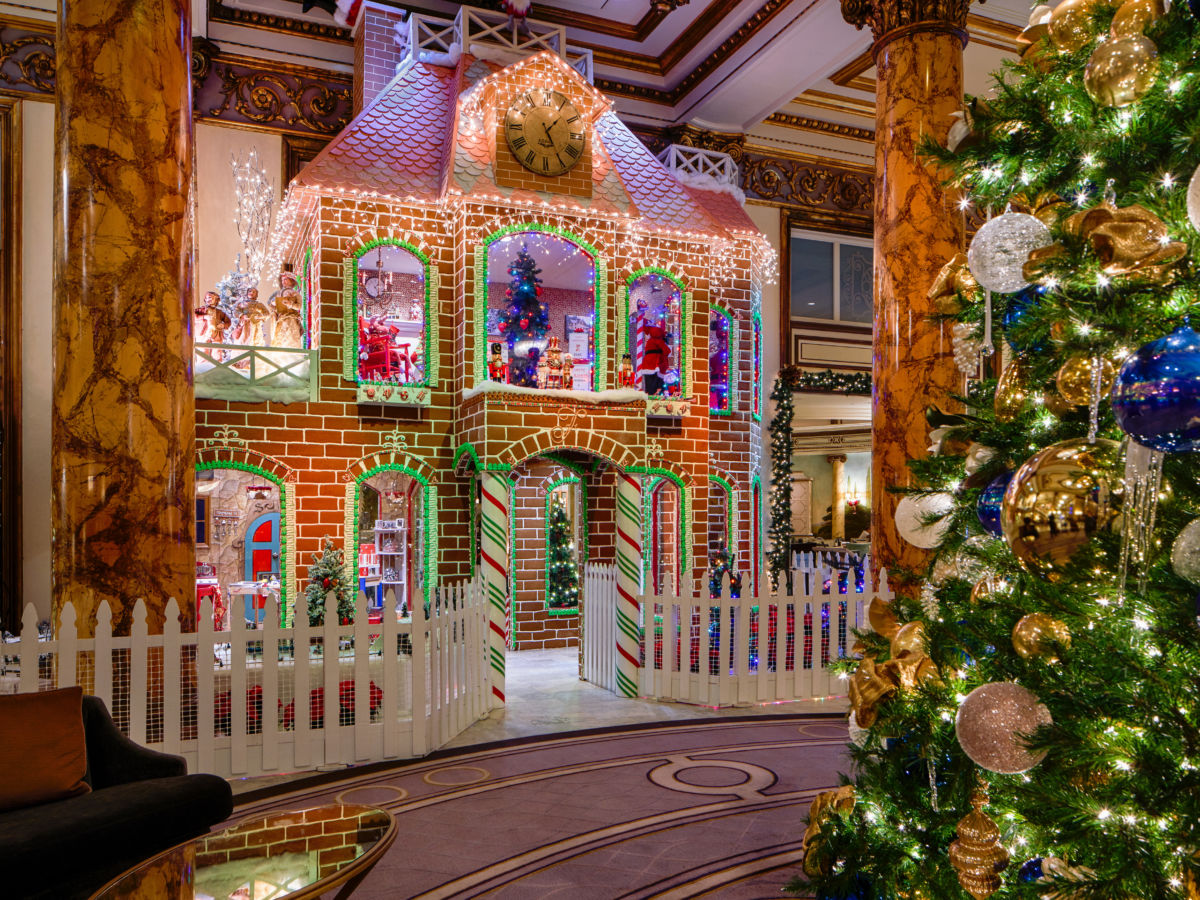 These Jaw-Dropping Life-Sized Gingerbread Houses Are Now on Display at Hotels Around the West