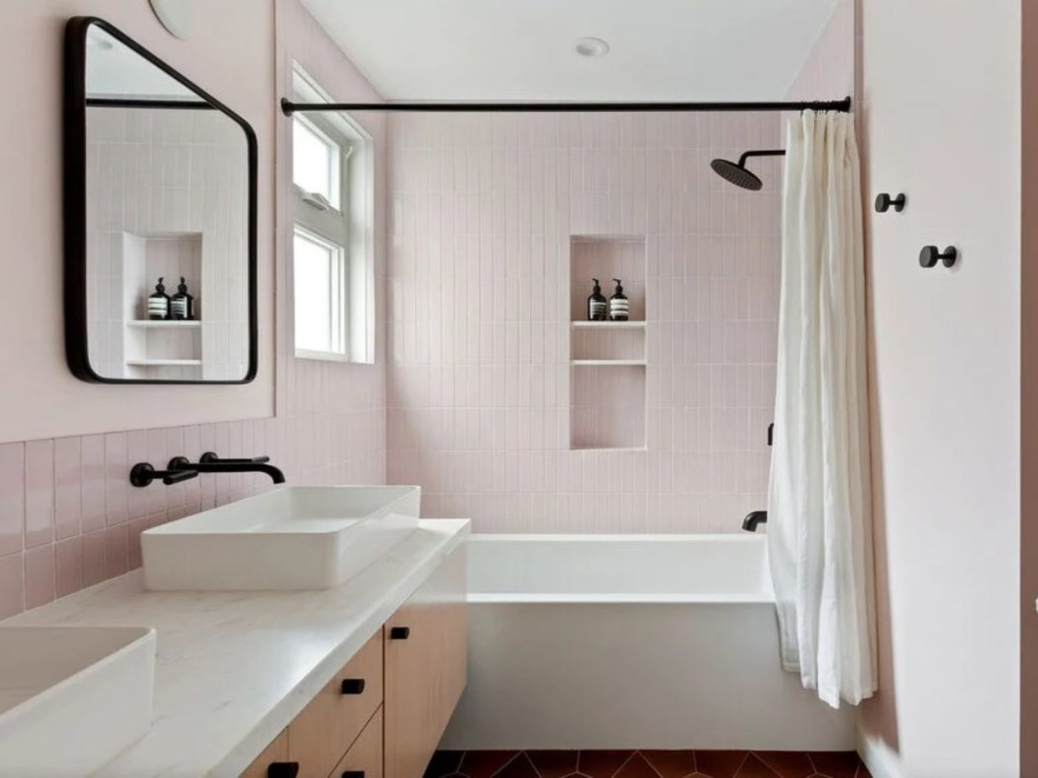 fireclay pink remodel