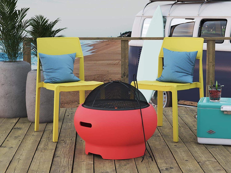 novogratz portable fire pit affordable fire pits