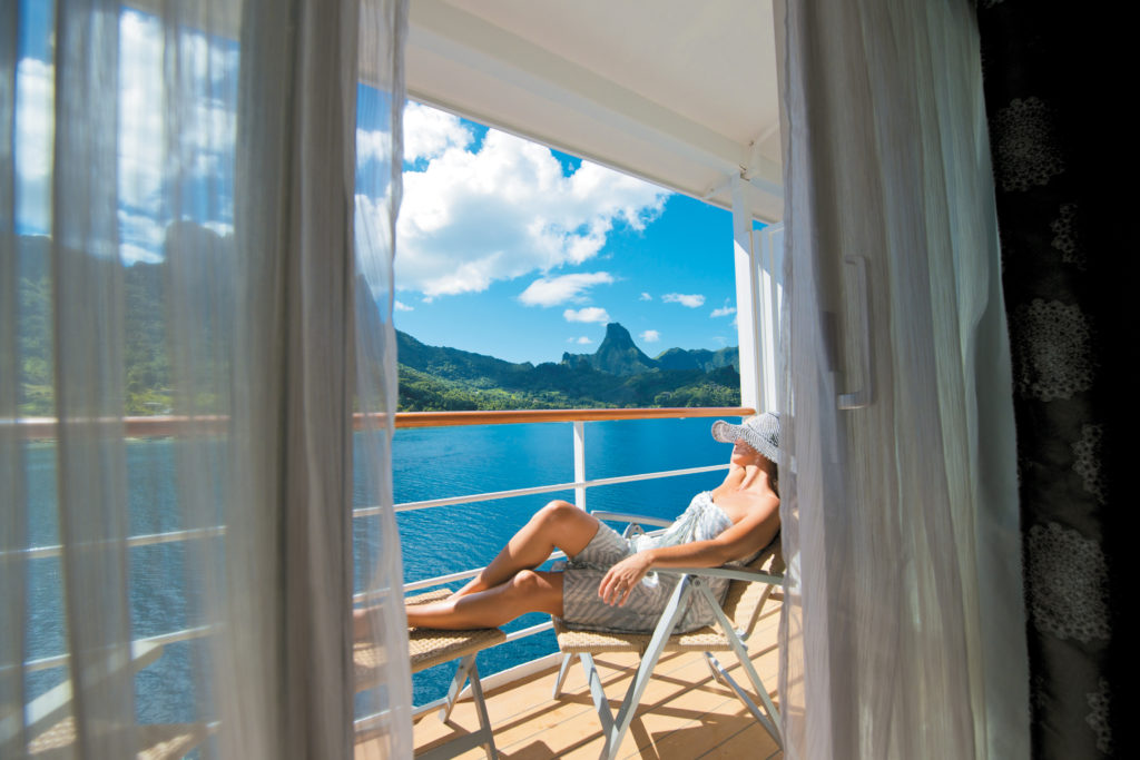 Paul Gauguin Cruises Suite Balcony