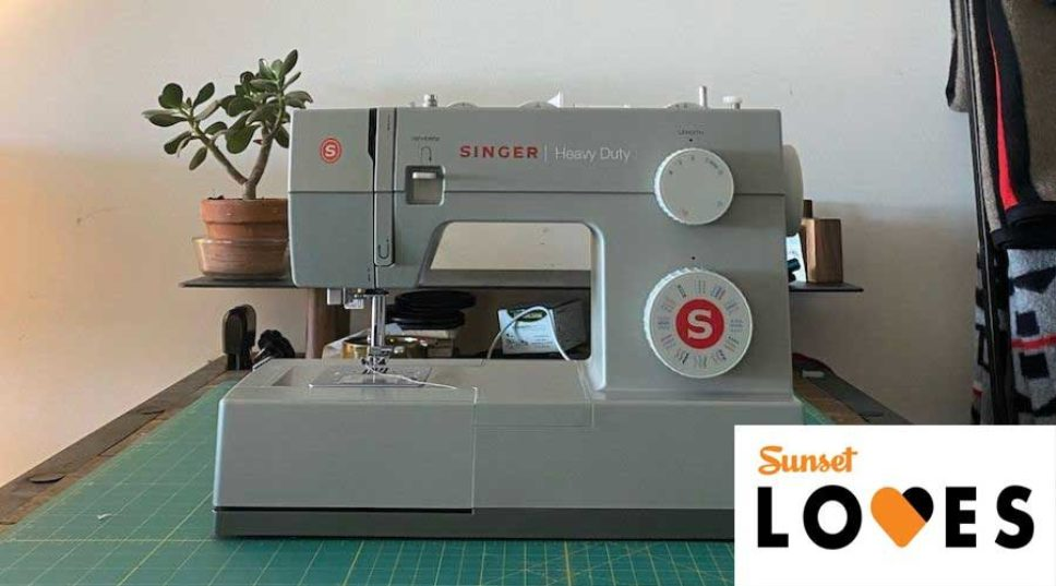 Sunset Loves: The Singer Heavy Duty Sewing Machine