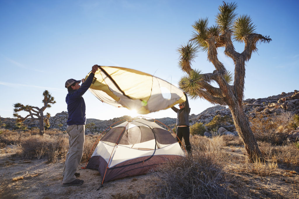 Dos and Don'ts of Tent Set-up, from the Bureau of Land Management