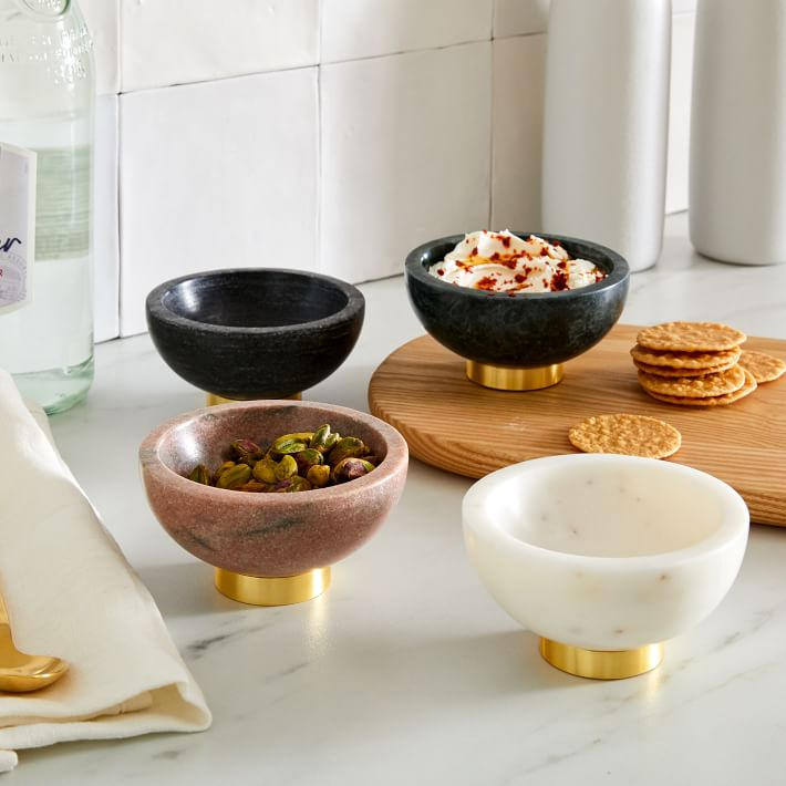 west elm marble dipping bowls