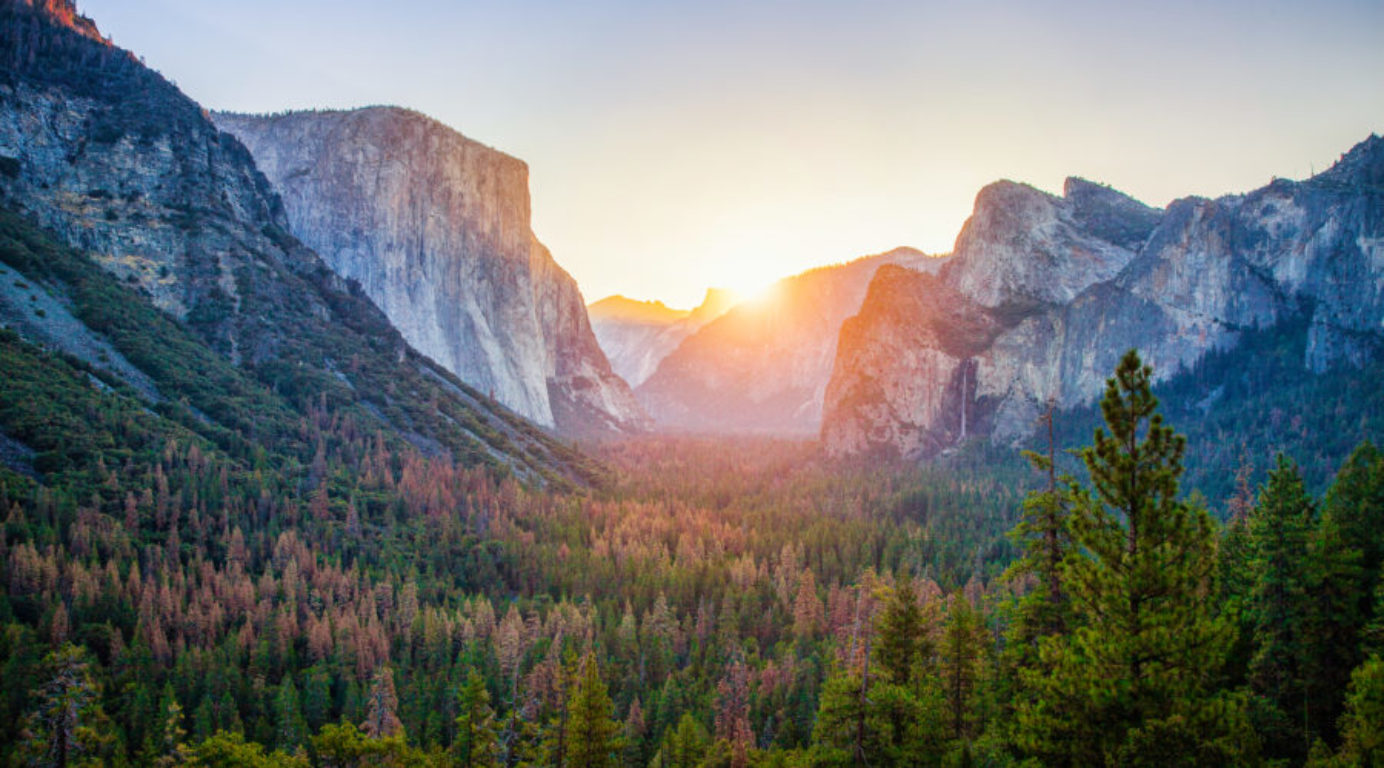 Yosemite National Park at Sunrise